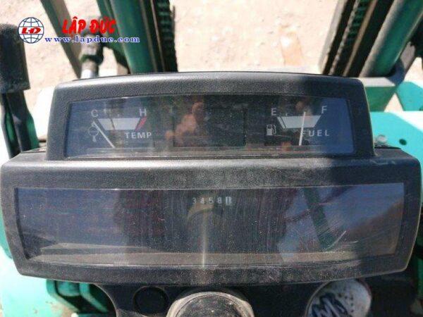 Xe nâng động cơ dầu 2.5 tấn MITSUBISHI FKD25 # 738556 giá rẻ
