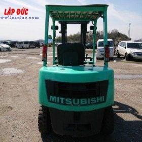 Xe nâng cũ động cơ dầu MITSUBISHI 2.5 tấn FKD25 # 738556 giá rẻ