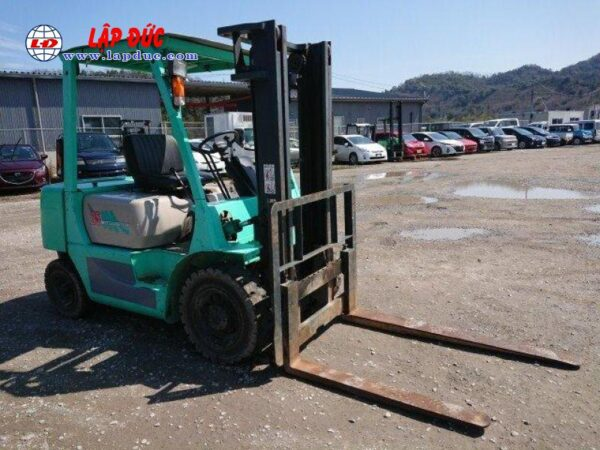 Xe nâng dầu cũ MITSUBISHI 2.5 tấn FKD25 # 738556 giá rẻ