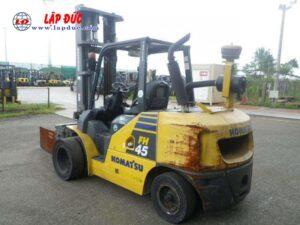 Xe nâng dầu cũ KOMATSU 4.5 tấn FH45-1 # 138223 giá rẻ