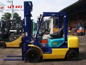 Xe nâng dầu KOMATSU 2.5 tấn FD25C-12 # 532585 giá rẻ