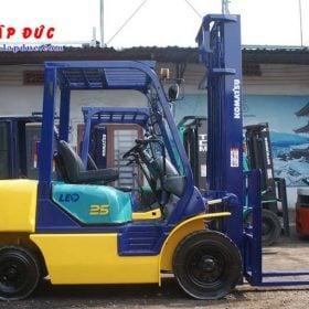 Xe nâng cũ động cơ dầu KOMATSU 2.5 tấn FD25C-12 # 532585 giá rẻ