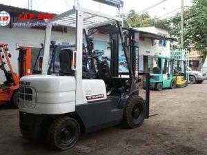 Xe nâng dầu 2 tấn MITSUBISHI FD20 #F18B -09137 giá rẻ