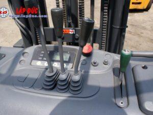 Xe nâng điện đứng lái cũ KOMATSU 1.5 tấn FB15RL# 14 -146097 giá rẻ