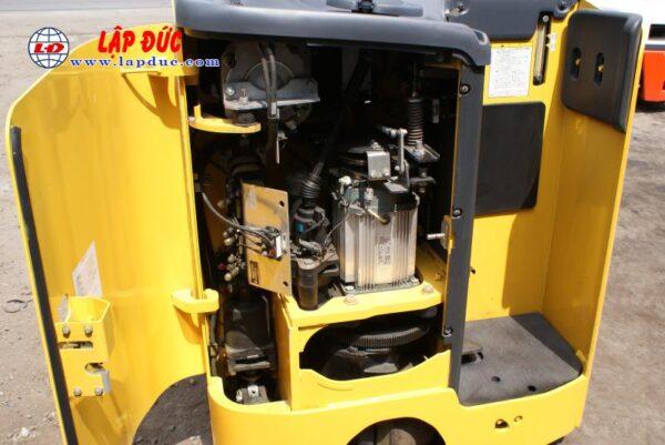 Xe nâng điện cũ KOMATSU 1.5 tấn đứng lái FB15RL# 14 -146097 giá rẻ