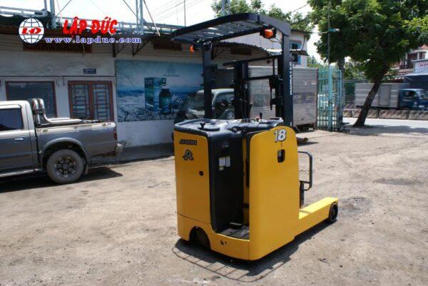 Xe nâng điện đứng lái 1.8 tấn KOMATSU FB18RL-15 # 153971 giá rẻ