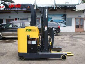 Xe nâng điện đứng lái cũ 2.5 tấn KOMATSU FB25RN-4 #4169 giá rẻ