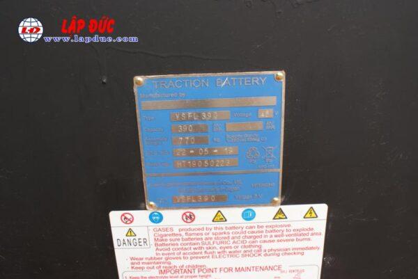 Xe nâng điện cũ NICHIYU 2.5 tấn đứng lái FBR25-75-500 # 3062 giá rẻ