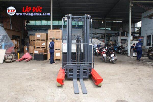Xe nâng điện đứng lái cũ NICHIYU 2.5 tấn FBR25-75-500 # 3062 giá rẻ