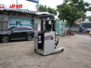 Xe nâng điện đứng lái cũ NISSAN 1.5 tấn U01F15 # R1G-06808 giá rẻ