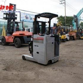 Xe nâng điện đứng lái NISSAN 1.5 tấn U01L15 # R1G-15470 giá rẻ