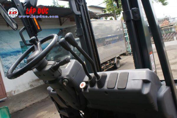 Xe nâng điện cũ KOMATSU 1.0 tấn ngồi lái FB10EX-11 # 811833