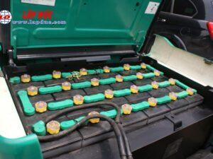 Xe nâng điện cũ KOMATSU ngồi lái 1.0 tấn FB10EX-11 # 811833