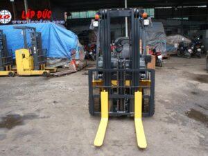 Xe nâng điện ngồi lái cũ 2.5 tấn KOMATSU FB25-12 # 100193