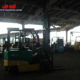 Xe nâng điện ngồi lái 2.5 tấn KOMATSU FB25EXG-11 # 819042