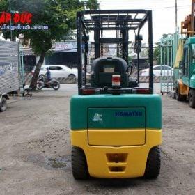 Xe nâng điện ngồi lái cũ 3 tấn KOMATSU FB30-11 # 820446