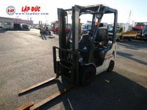 Xe nâng xăng cũ 1 tấn NISSAN EBT-NP1F1 #726030 giá rẻ