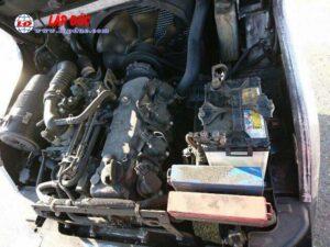 Xe nâng cũ động cơ xăng NISSAN 1 tấn EBT-NP1F1 #726030 giá rẻ