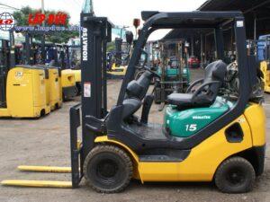 Xe nâng xăng cũ KOMATSU 1.5 tấn FG15LC20 # 659313 giá rẻ