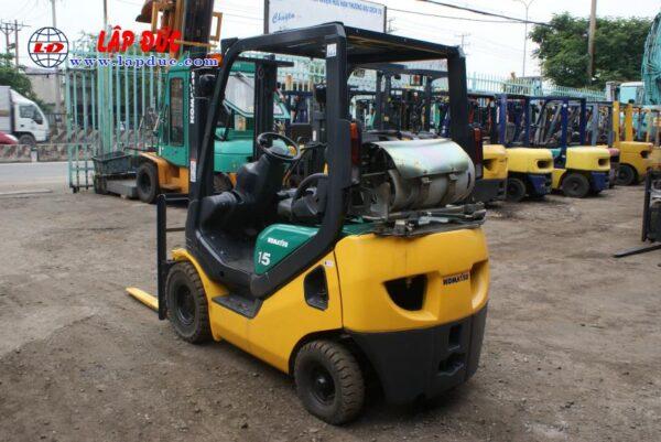 Xe nâng cũ động cơ xăng KOMATSU 1.5 tấn FG15LC20 # 659313 giá rẻ