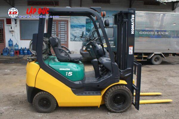 Xe nâng xăng cũ 1.5 tấn KOMATSU FG15LC20 # 659313 giá rẻ