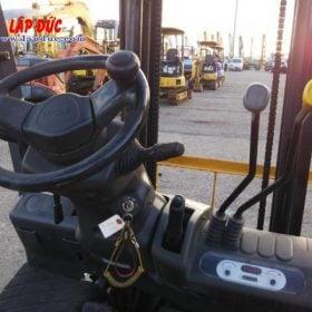 Xe nâng máy dầu cũ TCM 1.5 tấn FD15T13 # 0H700997 giá rẻ