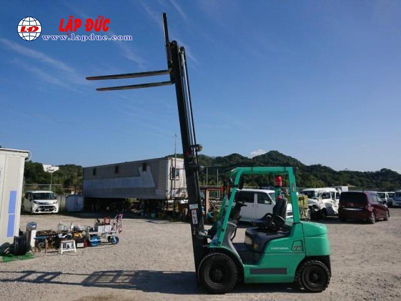 Xe nâng 2 tấn - 2.5 tấn cũ KOMATSU - TOYOTA 19