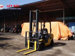 Xe nâng dầu KOMATSU 3 tấn FD30C-17 # 322470 giá rẻ