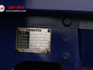 Xe nâng máy dầu cũ KOMATSU 4 tấn FD40W-7 # 102963 giá rẻ