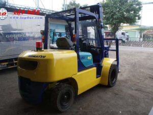 Xe nâng dầu 4 tấn KOMATSU FD40W-7 # 102963 giá rẻ