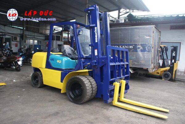 Xe nâng dầu KOMATSU 4 tấn FD40W-7 # 102963 giá rẻ