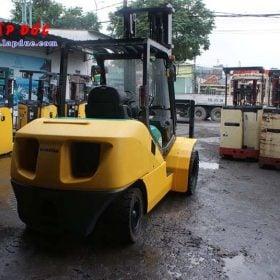 Xe nâng máy dầu cũ KOMATSU 4.5 tấn FD45T-10 # 135323 giá rẻ