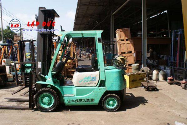 Xe nâng xăng ga 2.5 tấn MITSUBISHI KFG25 # 55046