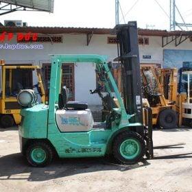 Xe nâng xăng ga 2.5 tấn MITSUBISHI KFG25 # 55046 giá rẻ