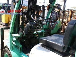 Xe nâng máy xăng - gas MITSUBISHI 2.5 tấn KFG25 # 55046 giá rẻ
