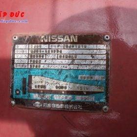 Xe nâng NISSAN máy xăng 1 tấn NJ01A10# 117591 giá rẻ