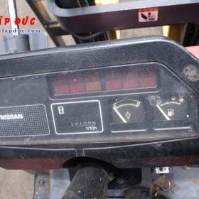 Xe nâng 1 tấn xăng NISSAN NJ01A10# 117591 giá rẻ