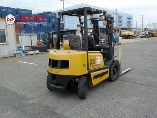 Xe nâng dầu cũ SUMITOMO 2 tấn 11FD20PVIXA # DF0649 giá rẻ