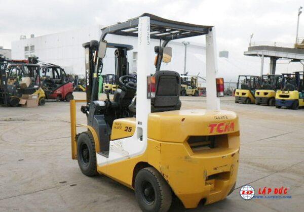 xe nâng xăng - ga 2.5 tấn TCM FG25T6