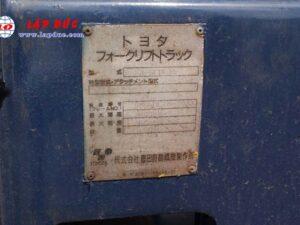 Xe nâng 1.5 tấn dầu TOYOTA 5FDL15 # 10332 giá rẻ