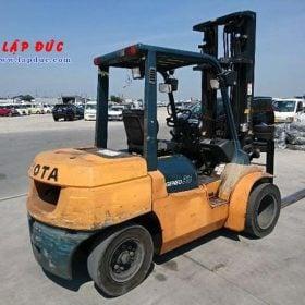 Xe Nâng động cơ Dầu diesel 3.5 tấn TOYOTA 7FD35 # 15511