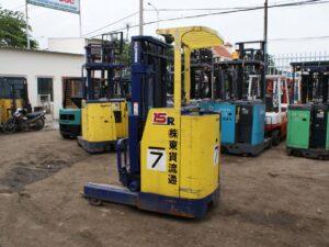 Xe nâng điện đứng lái cũ 1.5 tấn KOMATSU FB15RS-10 giá rẻ