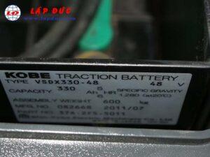Xe nâng điện đứng lái 1 tấn KOMATSU FB10-12-841518