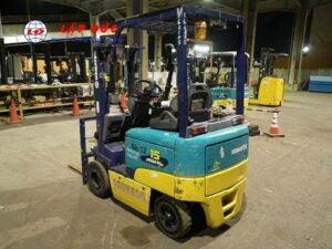 Xe nâng điện đứng lái 1.3 tấn KOMATSU FB15EX-10