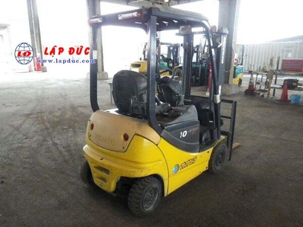 Xe nâng điện ngồi lái cũ 1 tấn KOMATSU FB10-12 834956 giá rẻv