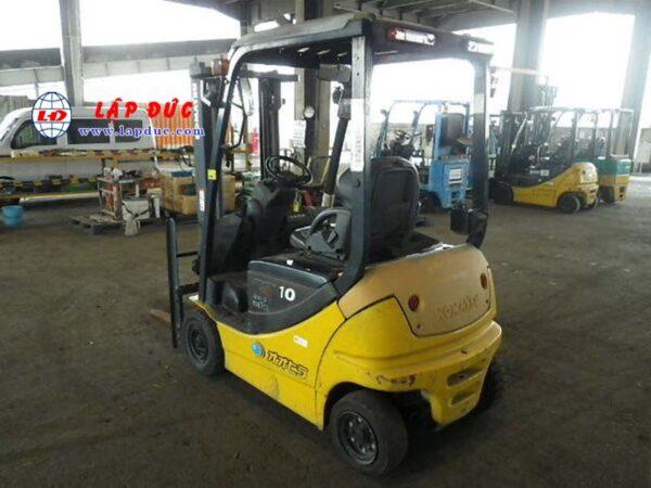 Xe nâng điện ngồi lái cũ KOMATSU 1 tấn FB10-12 834956 giá rẻ
