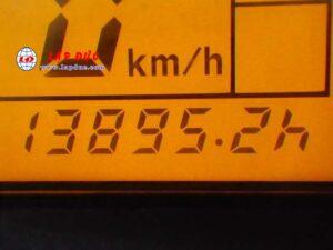 Xe nâng điện ngồi lái 1 tấn KOMATSU FB10-12# 834956