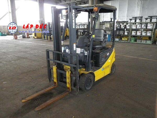Xe nâng điện ngồi lái KOMATSU 1 tấn FB10-12 834956 giá rẻ