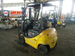 Xe nâng điện ngồi lái KOMATSU 1.4 tấn FB14-12 giá rẻ