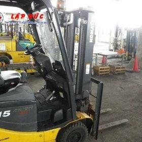 Xe nâng điện ngồi lái KOMATSU 1.5 tấn FB15-12 giá rẻ